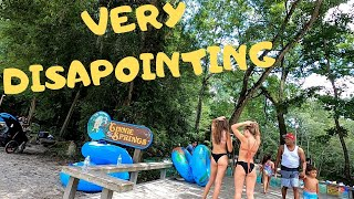 GINNIE SPRINGS REVIEW WOŔST CAMPING EVER