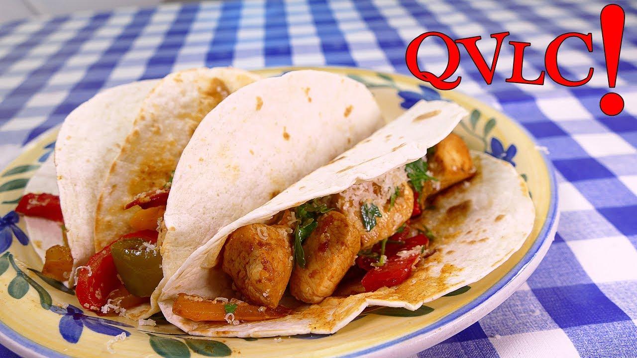 Tacos de pollo faciles comidas rapidas de hacer youtube for Comidas economicas y rapidas de preparar