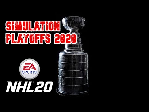2020 Stanley Cup Playoff Simulation!