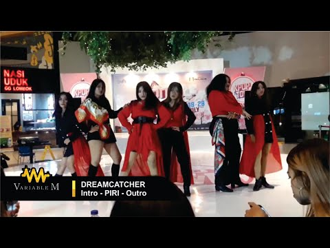 DREAMCATCHER (드림캐쳐) - PIRI (+Intro Outro) Dance Cover By ONEIRA At KPOP TOWN, Food Junction Surabaya
