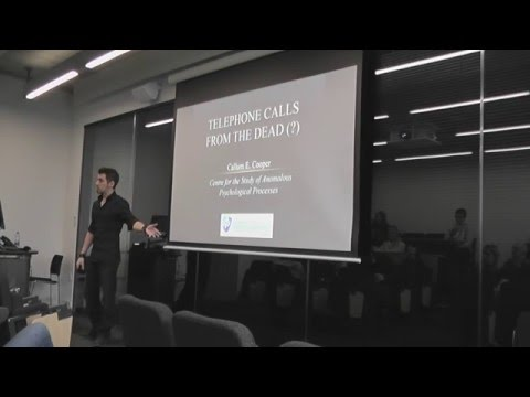Guest Lecture - 'Telephone Calls From The Dead' by Callum Co