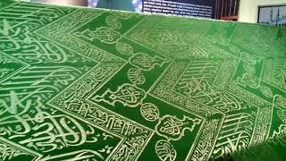 Penutup makam Nabi Muhammad Rasulullah S.A.W