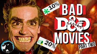 DUNGEONS & DRAGONS - Bad D&D Movies Part Two | Cynical Reviews