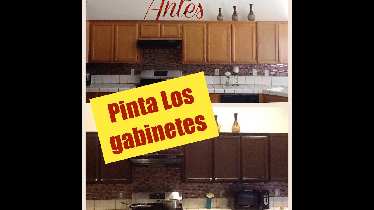 C Mo Pintar Los Gabinetes De Mi Cocina Youtube