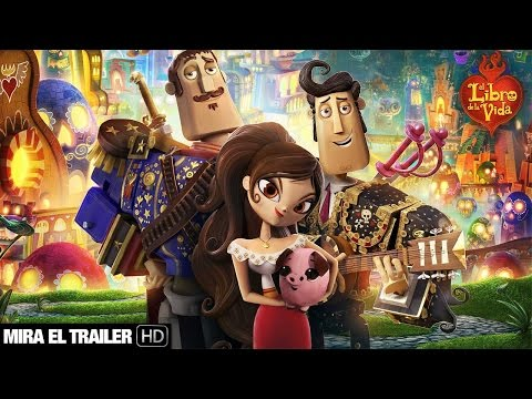El libro de la vida   Trailer español HD   #librodelavida