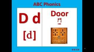 ABC 26個英文字母自然發音(26 English Alphabets ABC Phonics)