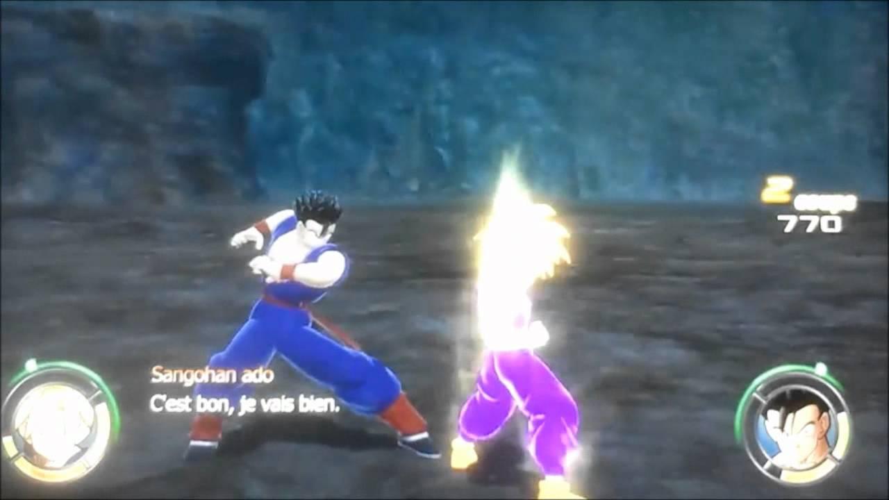 Sangohan Ado Vs Sangohan Adulte Dragon Ball Racing Blast 2 12