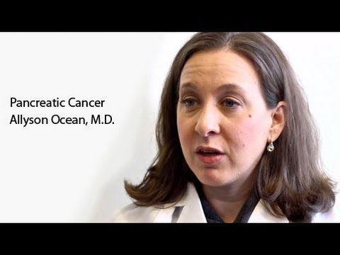 Pancreatic Cancer - Dr. Allyson Ocean