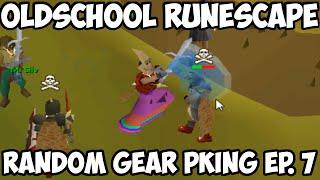 Oldschool Runescape - Random Gear Pking Ep. 7   2007 Pking