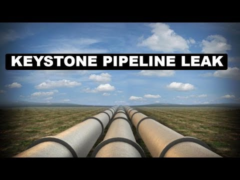 Keystone pipeline leaks over 200K gallons of oil in South Dakota