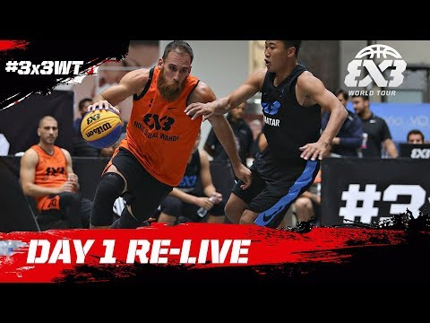 RE-LIVE -  FIBA 3x3 World Tour Mexico City Masters 2017 - Day 1 - Mexico City, Mexico