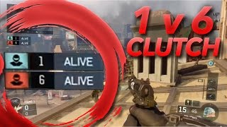 CRAZY 1 v 6 Search and Destroy Clutch in Black Ops 3