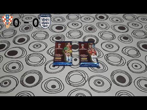 #12 Desafio Panini Rusia 2018 (Semifinales) Croacia VS Inglaterra