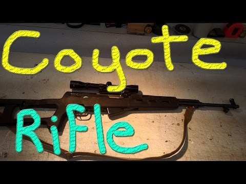 My SKS Is Now The Coyote Rifle #44 Raising Ducks For Charity