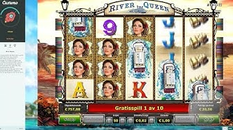 River Queen from Novomatic, 4 scatters, big win!