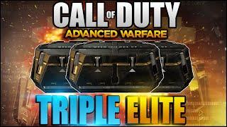 triple gun elite omg the most rare elite supply drop supply drop opening cod aw