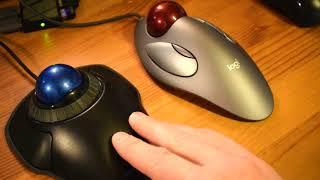 Logitech Marble Mouse - Trackball