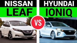 The New Nissan Leaf vs. Hyundai Ioniq EV