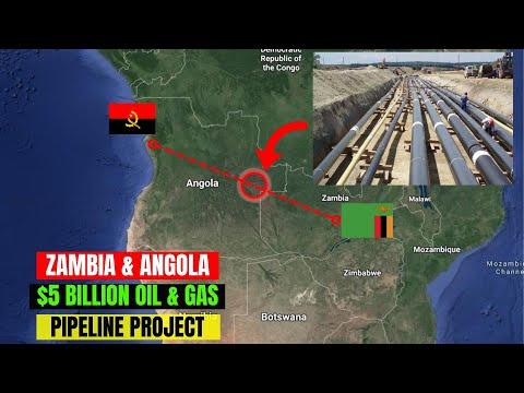 Zambia, Angola Sign $5 Billion Oil Pipeline Deal