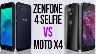 Zenfone 4 Selfie vs Moto X4 (Comparativo)