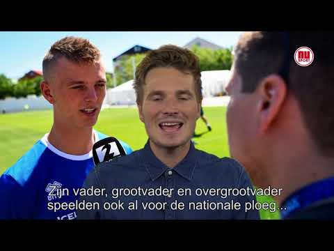 WK-feit van 22 juni: IJslandse Jack van Gelder gaat zoon aanmoedigen