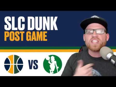 Utah Jazz vs Boston Celtics: Post Game Reaction - JAYLEN BROWN GAME WINNER UGH