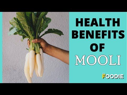 Health Benefits of Mooli (Radish)   Why Is Mooli Beneficial For Health?   The Foodie