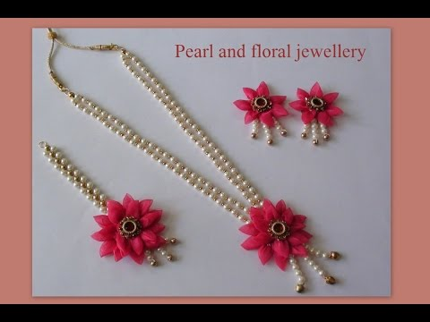 Do it yourself pearl and floral jewellery youtube do it yourself pearl and floral jewellery solutioingenieria Gallery