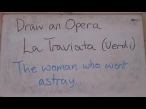 Draw an Opera - La Traviata (Verdi - 1853)