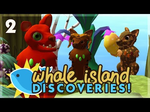 A Hidden Birdy Secret! | Niche Let's Play • Whale Island Discoveries - Episode 2