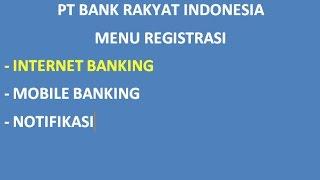 Download Cara Daftar Internet Banking Bri Mp3 and Videos