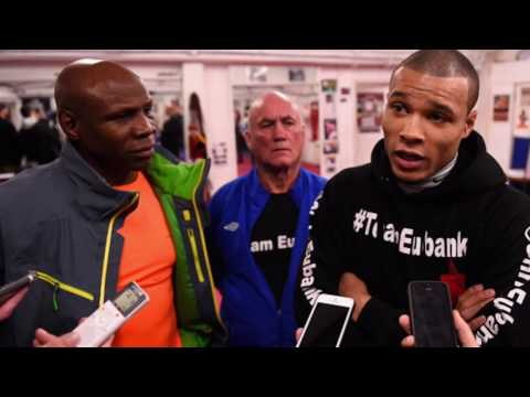Chris Eubank Jr. REACTS To Andre Ward Knocking Out Sergey Kovalev In Rematch