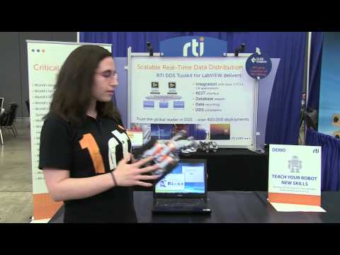 Communicate With Lego MindStorms Using The DDS Toolkit For LabVIEW -- Real-Time Innovations
