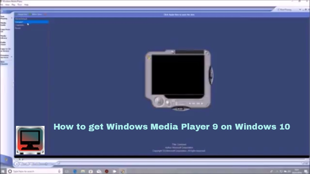 Windows Media Player 9 - Download for PC Free