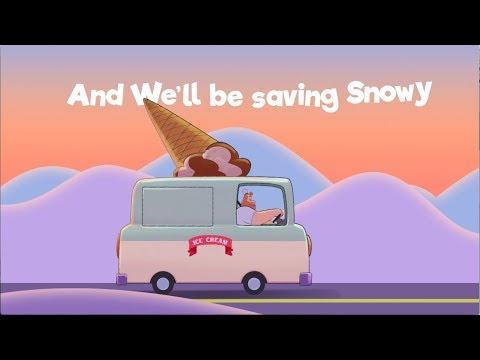 Khalil Fong (方大同)- Saving Snowy Official Lyric Video