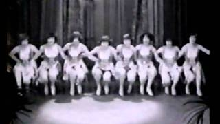 The Victoria Girls perform the Doll Dance: De Forest Phonofilm 1928