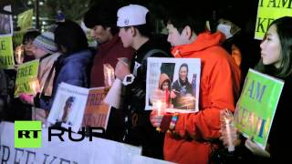 Japan: Islamic State-held Kenji Goto supporters hold vigil outside PM