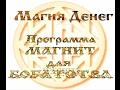 Магия денег Программа МАГНИТ для БОГАТСТВА (чернокнижное)