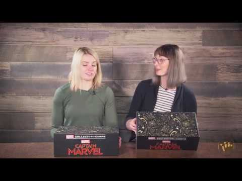 Marvel Collector Corps Amazon Captain Marvel Unboxing