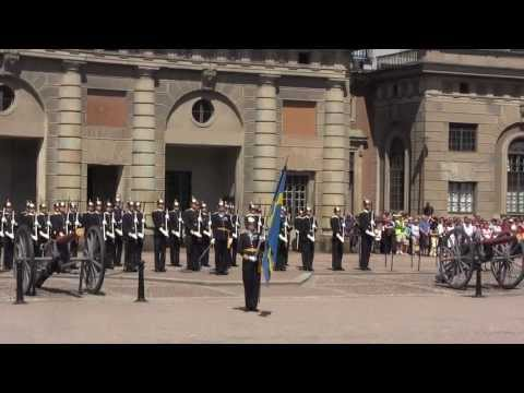 Swedish Royal Guards - Changing The Guard