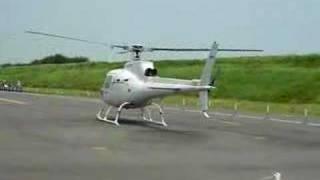(??????)TAKEOFF AS350B FROM HONDA AIRWAYS