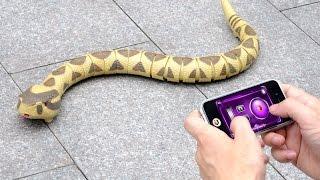 Serpiente a Control Remoto Compatible con Android y IOS