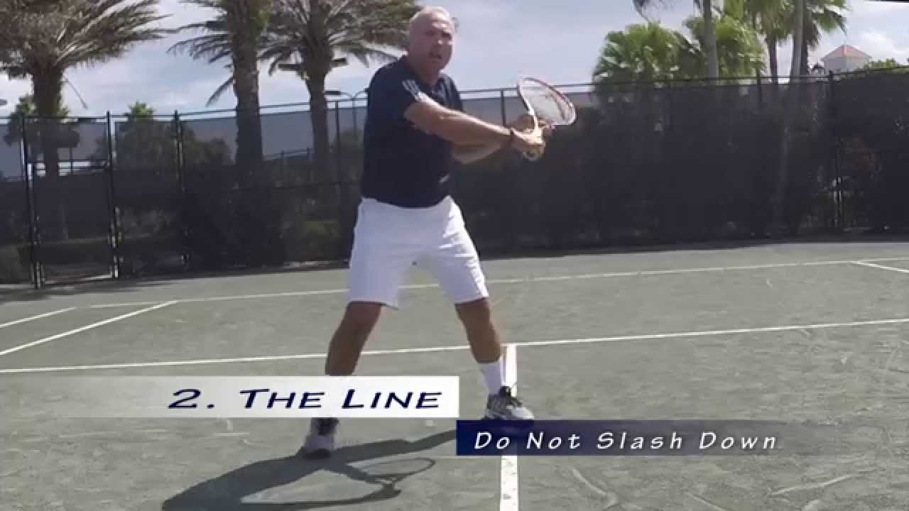 USTA Florida Go Pro Tennis Tips: The Volley - YouTube