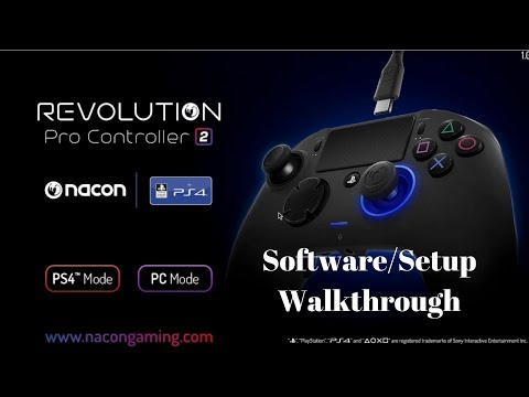 Nacon Revolution Pro 2 Software & Setup WalkthroughProgramming Your Controller