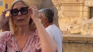 Рим / без купюр как мы начинали снимать видео - фонтан Треви