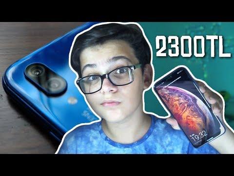 YENİ TELEFONUM (Huawei P20 lite)