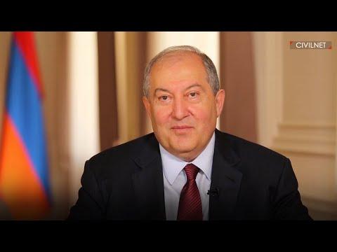 Time To Recognize Armenia As Homeland For All Armenians: Armen Sarkissian