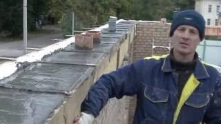видео Армирование фундамента с помощью металлических труб или уголков
