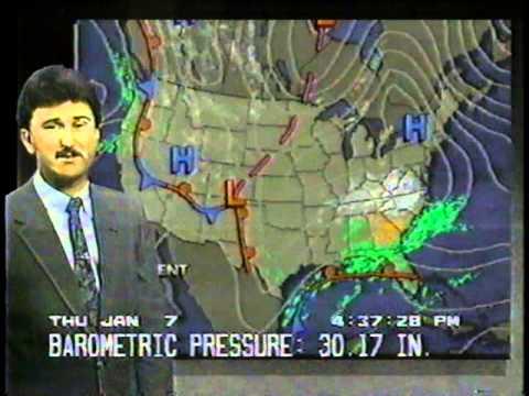 "Huntsville, AL 10"" Heavy Snow  - TWC Part 2 - 1/7/88"