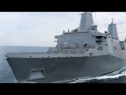 USS Portland (LPD 27) Commissioning Preview